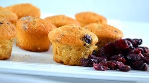 Recette de Muffin cranberrt