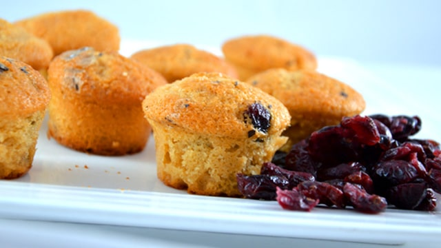 Muffin cranberry Terminer