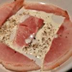 Oeuf camembert et jambonAjouter la crème