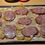 Pizza Andouille Ranger l'andouille