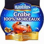 Rillette crabe et saumon Crabe Nautilus