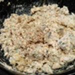 Rillette crabe et saumon Mixer