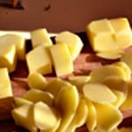 Rognon de veau apéro Tailler les pomme de terre