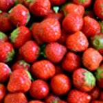 Salade de fraises Equeuter