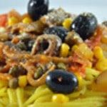 Spaghettis aux anchois Zoom