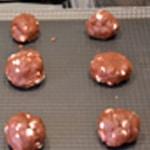 Cookies chocolat blanc et noir Former les boulets