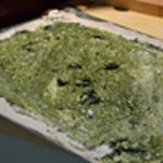 Pizza Italienne Etaller le pesto