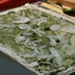 Pizza Italienne Semer les oignons