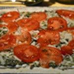 Pizza Italienne Couper les tomates
