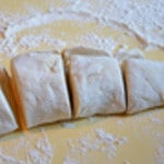 Pizza Andouillette La pâte monte