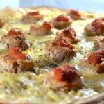 Pizza Andouillette Terminer