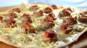Recette de Pizza Andouillette