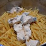 Pâtes au Gorgonzolas Fondre le fromage dans les pâtes