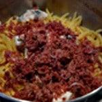 Pâtes au Gorgonzolas Jambon haché