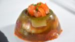 Aspics aux crevettes