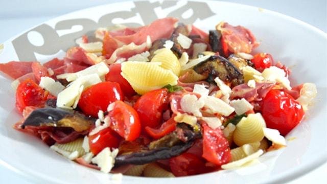 Castellane aux aubergines Terminer