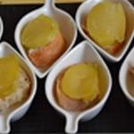 Cuillère au munster Trancher les pommes de terre