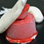Glace fraises gariguettes Zoom