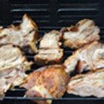 Jambonneau au barbecue Retourner
