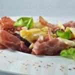 Pâtes et charcuterie Italie Prête a déguster