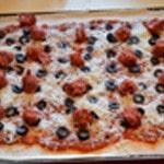 Pizza merguez Ajouter les merguez