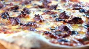 Pizza merguez Terminer