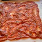 Pizza reine Etaler généreusement