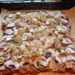 Pizza reine Ajouter les champignons
