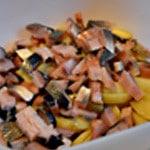 Salade de kippers Kippers et pdt