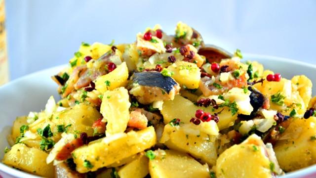Salade de kippers Terminer