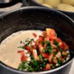 Sauce vin blac et tomates Ajouter les tomates