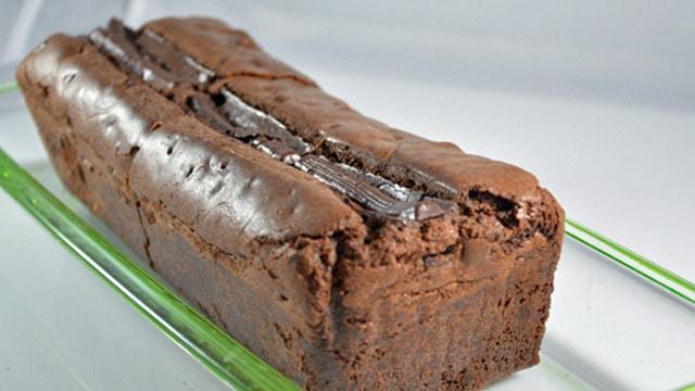 Cake rivière de chocolat Terminer