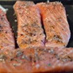 Fusilli au saumon Cuir le saumon
