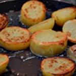 Omelette Franc comtoise Griller les pdt