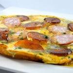Omelette Franc Comtoise