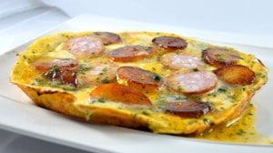 Recette de Omelette Fran comtoise