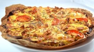 Recette de Pizza au Munster