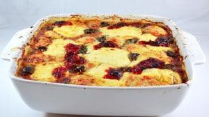 Recette de Lasagnes au jambon cru