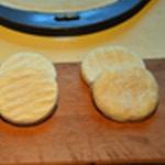 Pizza Saint Marcellin Trancher en deux les fromages