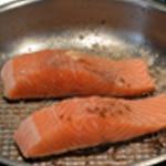 Terrine de lotte Cuire le saumon
