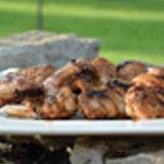 Ailes de poulet piquantes Ailes cuites