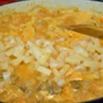 Curry de porc Ajouter les ananas