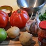 Gaspacho à la tomate Les ingrédients