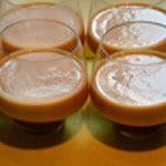 Panna cotta aux abricots Puis l'abricot crème