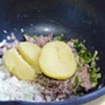 llettes de thon rapide Mélanger les ingrédients