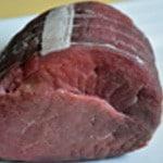 Rosbif au poivre en grain Sortir la viande avant de la cuire