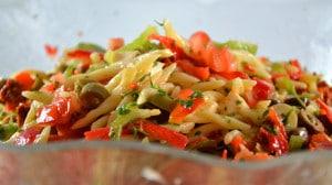 Recette de Salade de trofie liguri