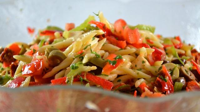Salade de pâtes Terminer