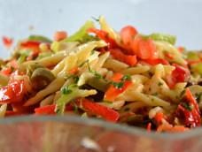 Salade de trofie Liguri