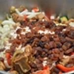Tajine de veau Ajouter les raisins sec